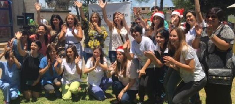 Festejamos junto a las familias del Cetet Quilmes .