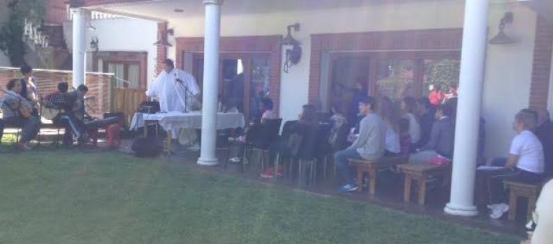 FELIZ PASCUA DE RESURRECCIÓN EN LA CASA DE LEANDRO