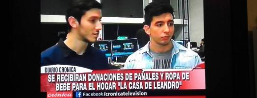 Banderazo a Beneficio del Hogar La casa de Leandro