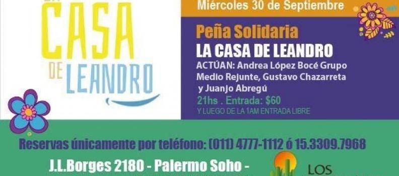Peña solidaria