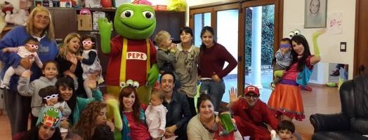 El Sapo Pepe, nos visito!!!