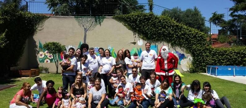 Voluntarios de PRIAR – Banco Galicia .